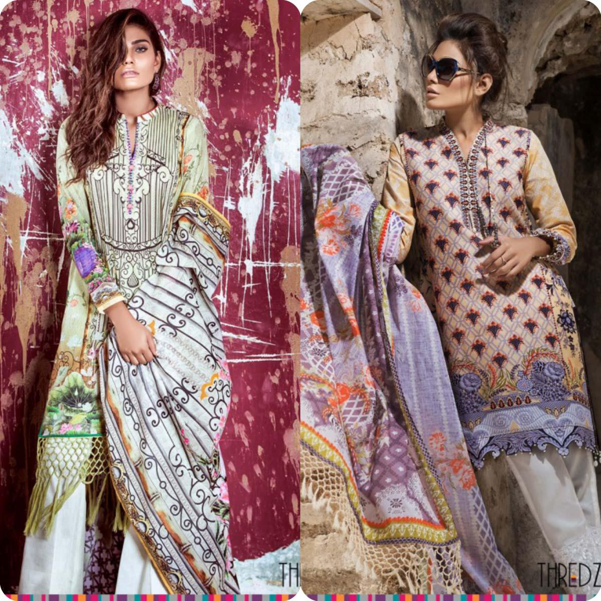 Stylish Embroidered Eid KurtisTunics for Girls By THREDZ 2016-2016 Complete Look-Book (3)