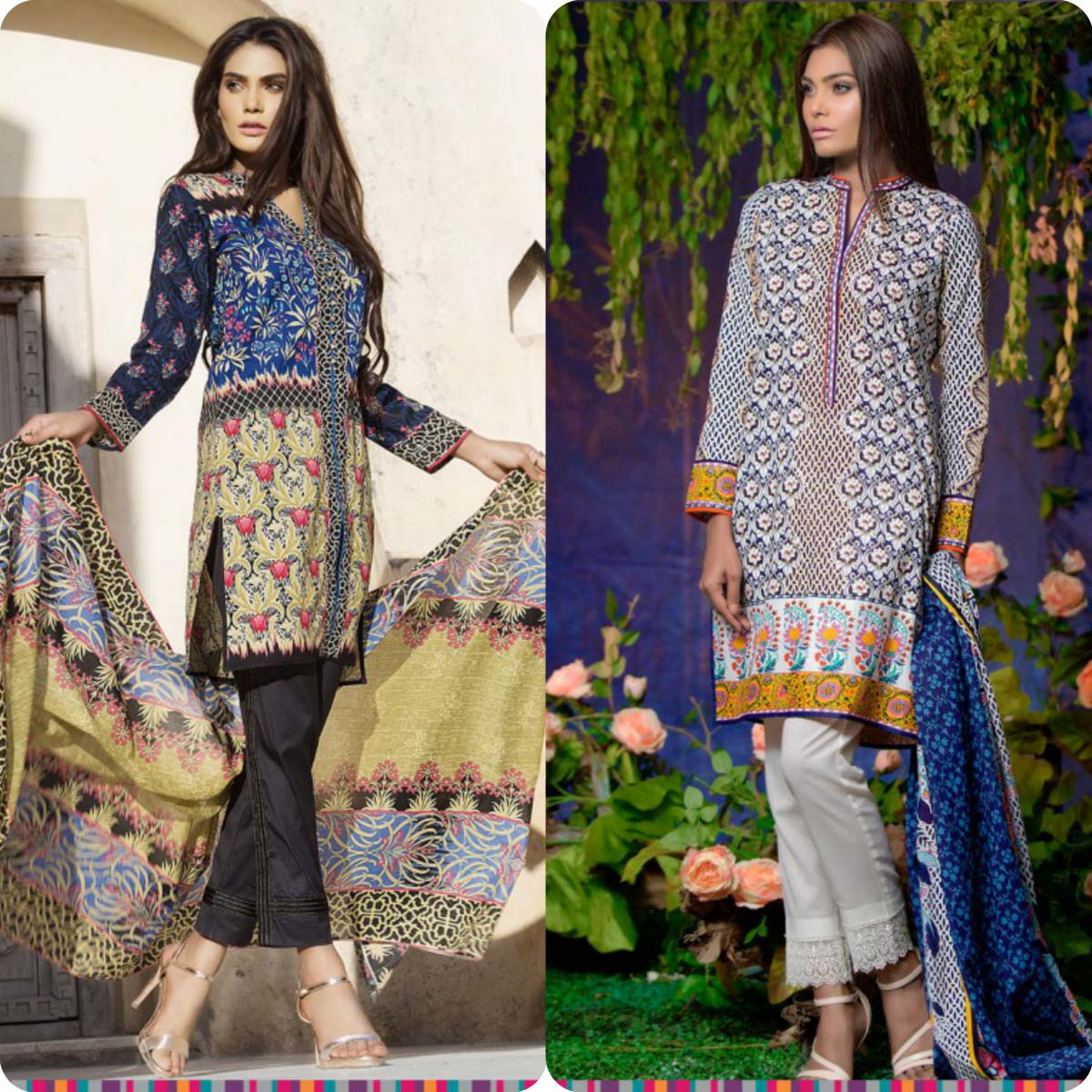 Stylish Embroidered Eid KurtisTunics for Girls By THREDZ 2016-2016 Complete Look-Book (7)