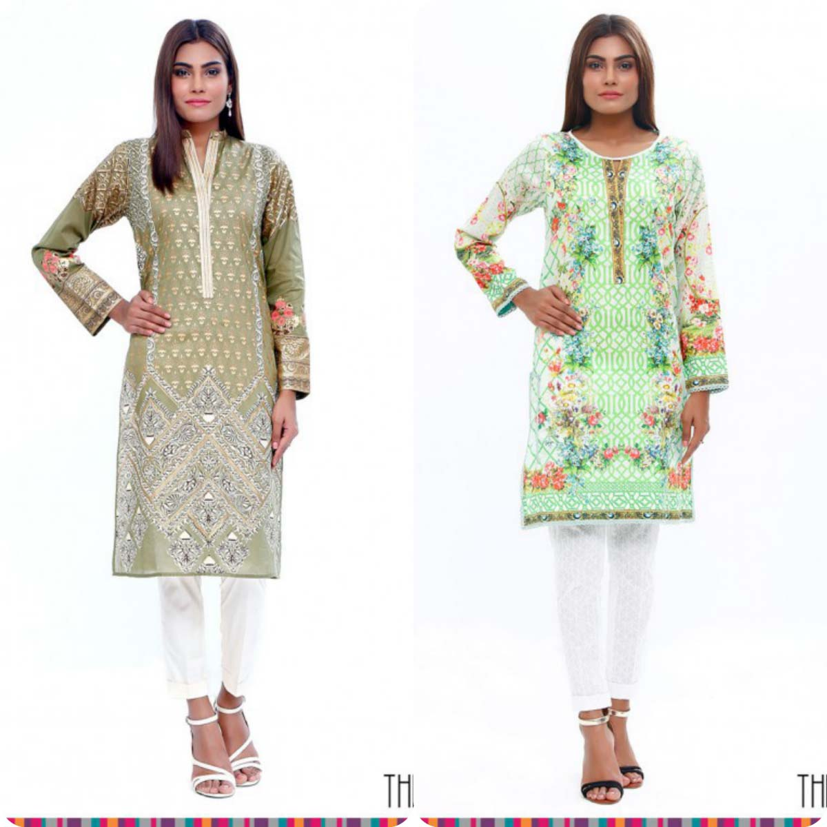 Stylish Embroidered Eid KurtisTunics for Girls By THREDZ 2016-2016 Complete Look-Book (9)