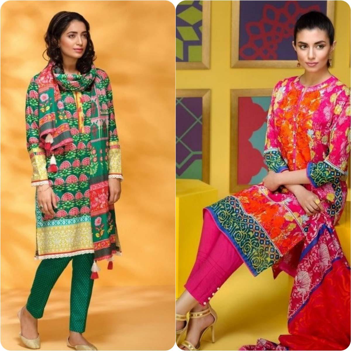 khadi printed dresses