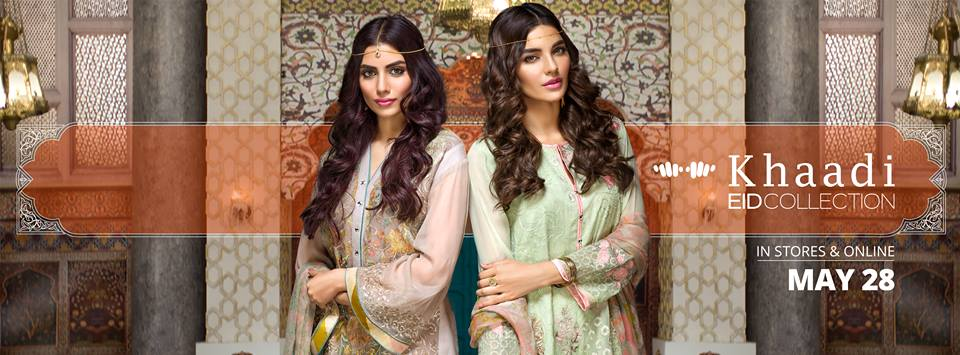 Stylish Embroidered Eid Suits Collection By Khaadi 2016-2017 (15)