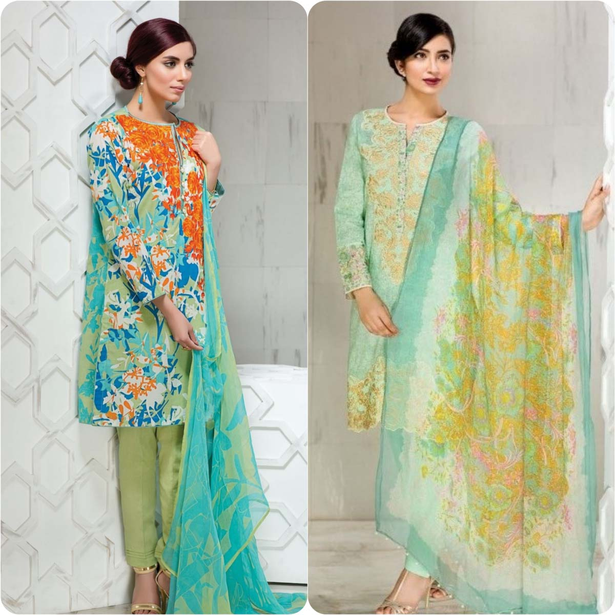 Khaadi Embroidered Eid collection 2016