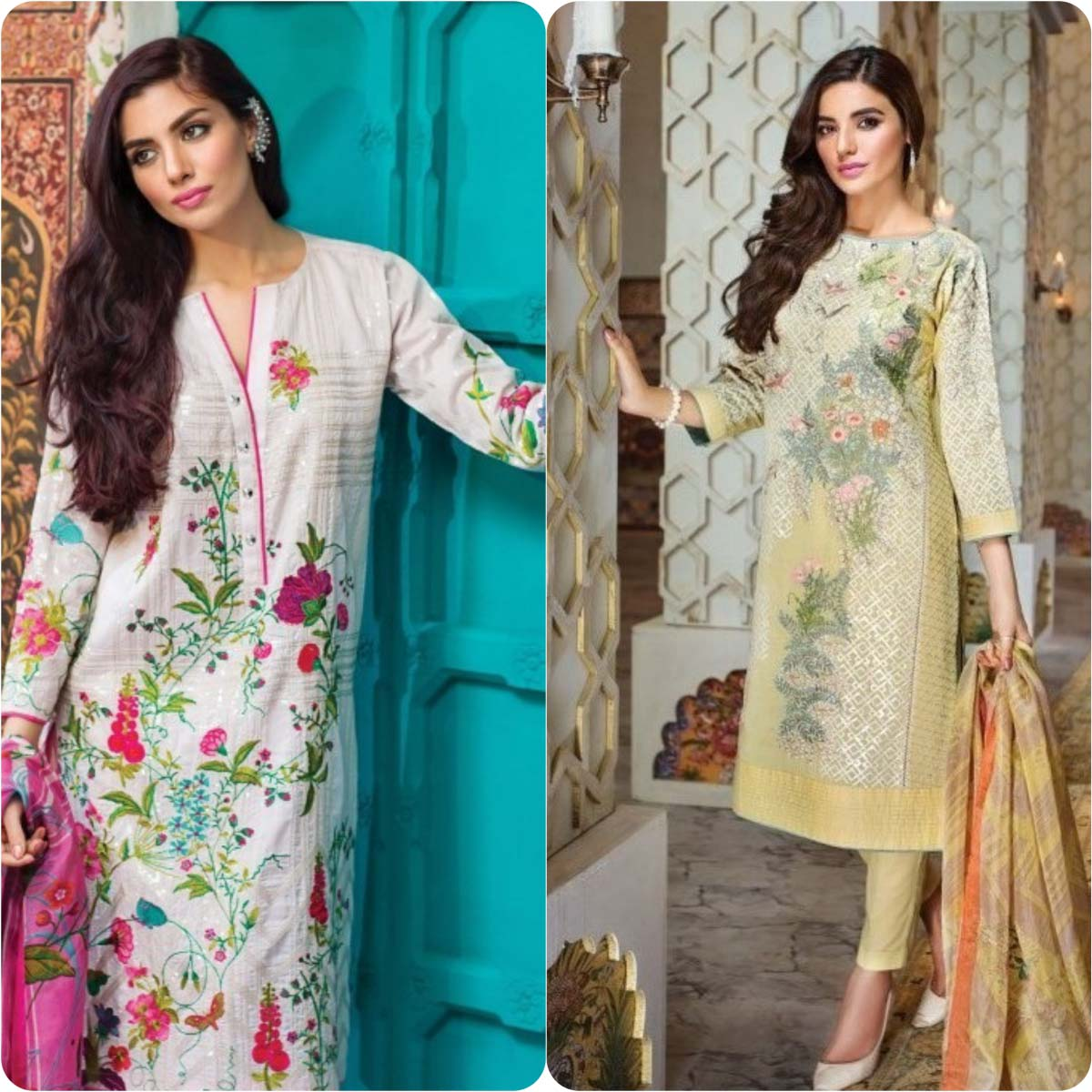 Stylish Embroidered Eid Suits Collection By Khaadi 2016-2017 (3)
