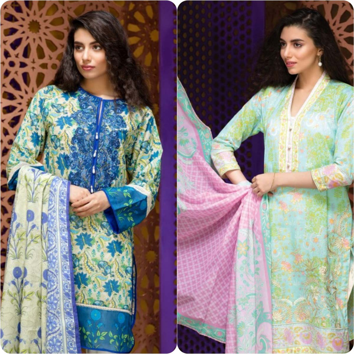 Stylish Embroidered Eid Suits Collection By Khaadi 2016-2017 (5)