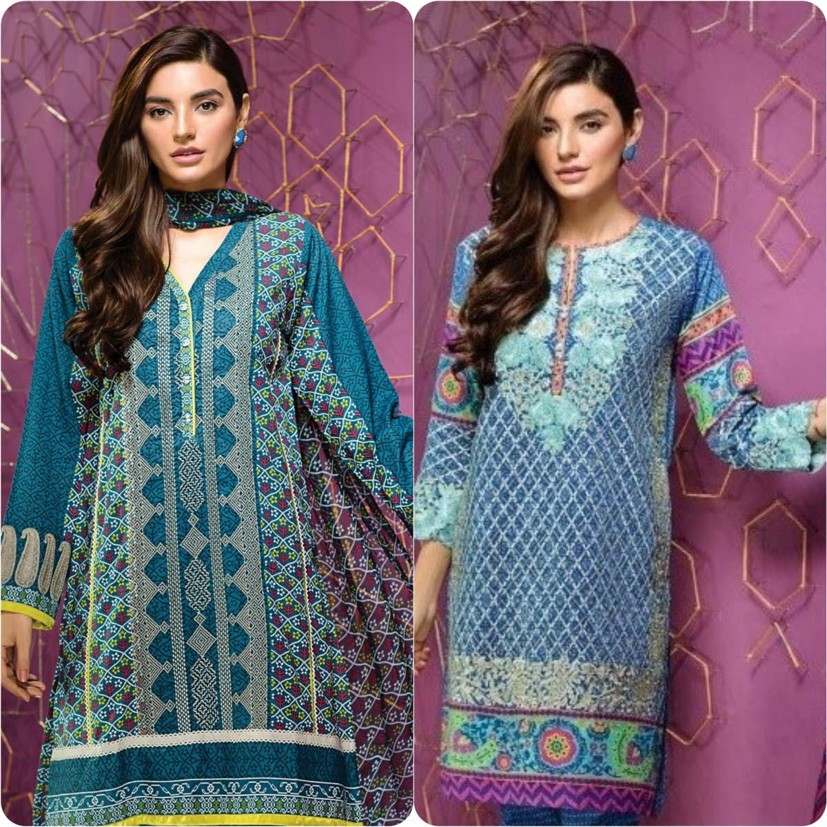 Stylish Embroidered Eid Suits Collection By Khaadi 2016-2017 (6)