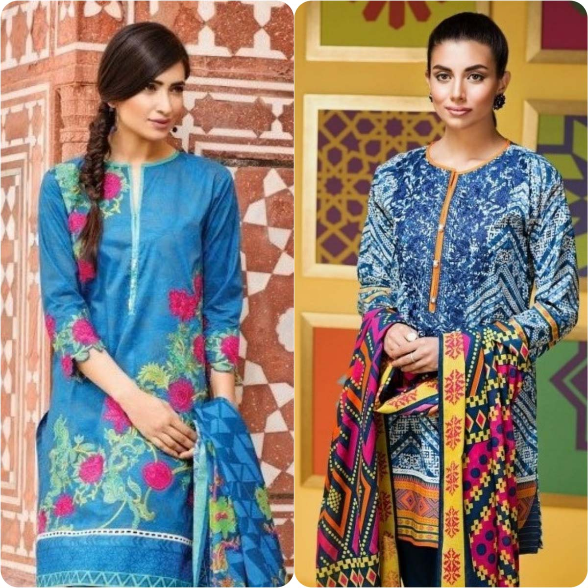 Stylish Embroidered Eid Suits Collection By Khaadi 2016-2017 (8)