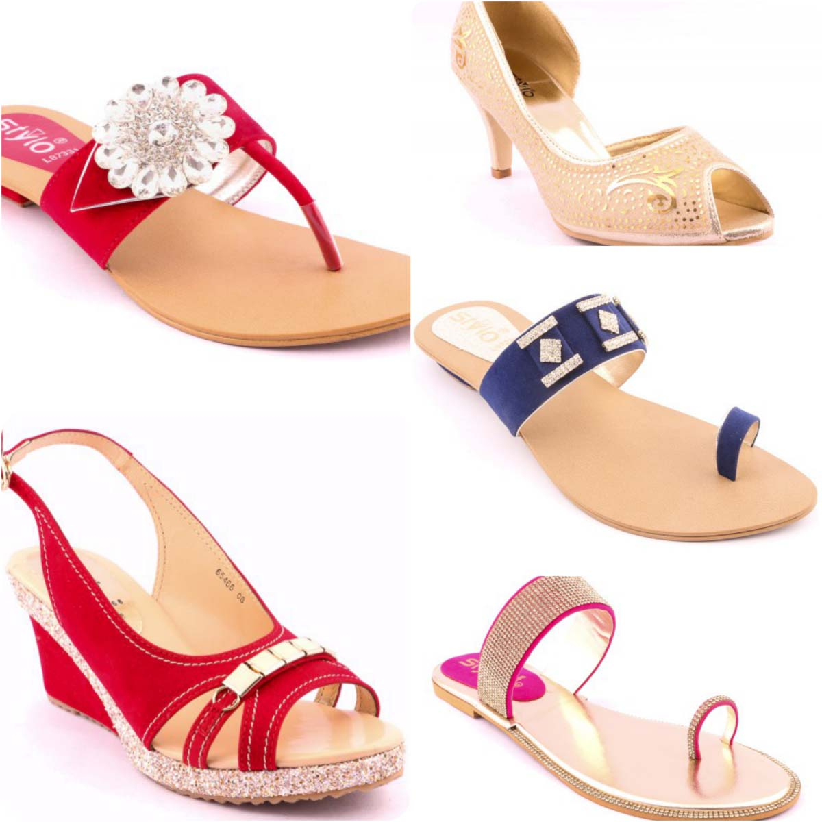 6a3c807b236 Stylo Shoes Stylish and Fancy Eid Collection for Girls 2016-2017