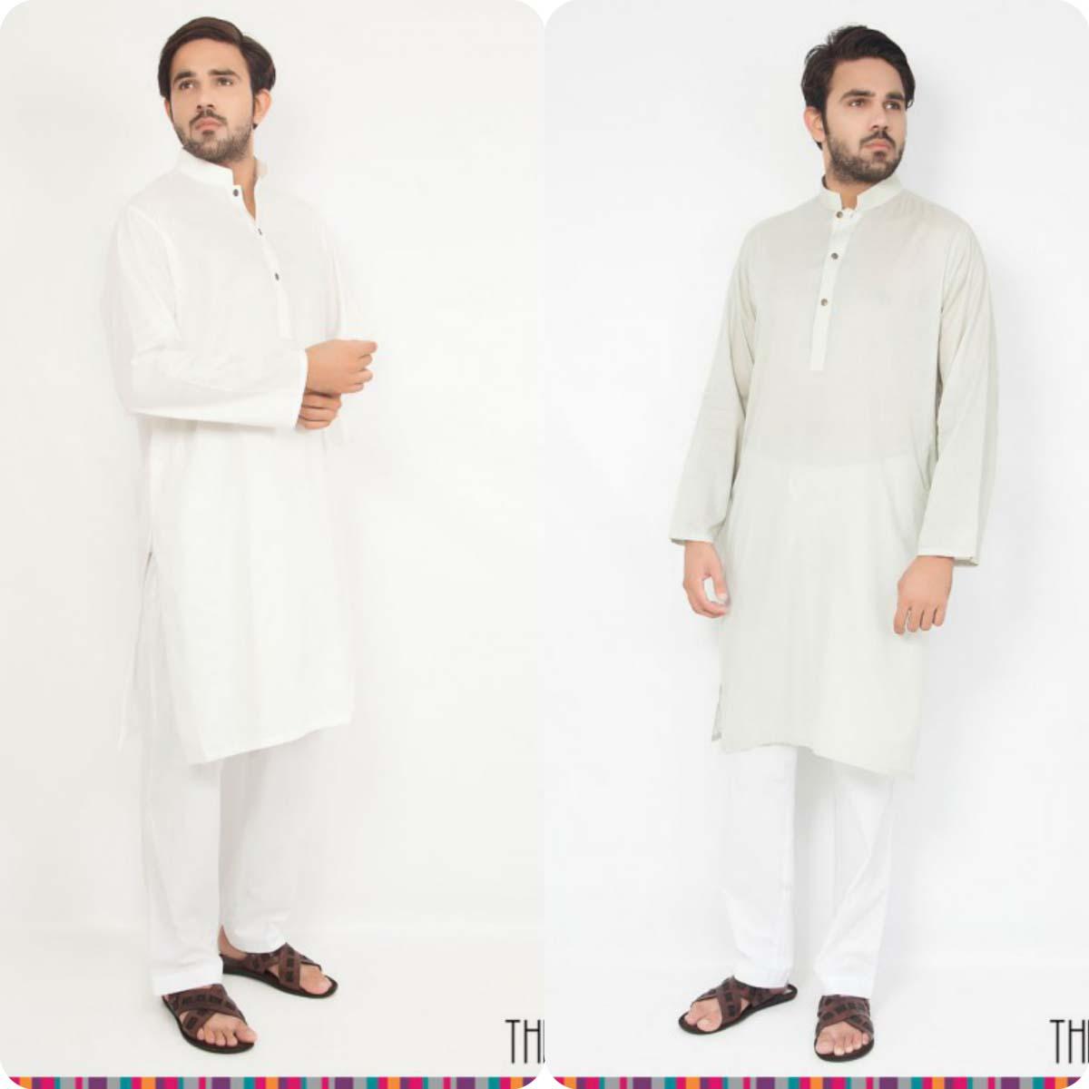 Thredz Menswear Summer Eid Kameez Shalwarkurta Designs Collection 2016-2107 (10)