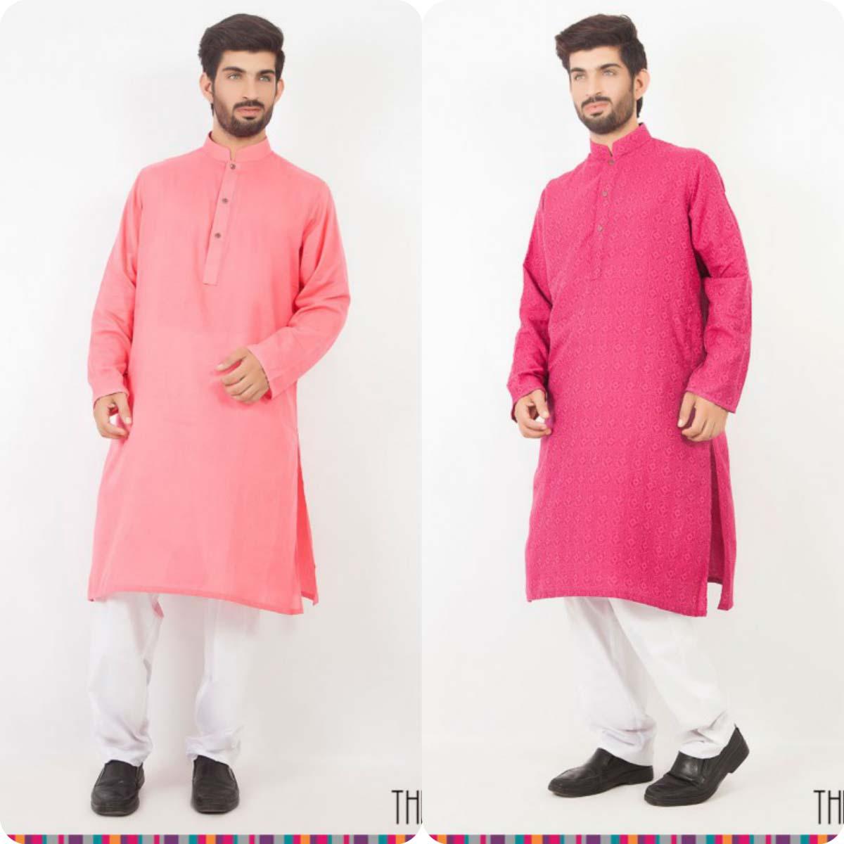 Thredz Menswear Summer Eid Kameez Shalwarkurta Designs Collection 2016-2107 (2)