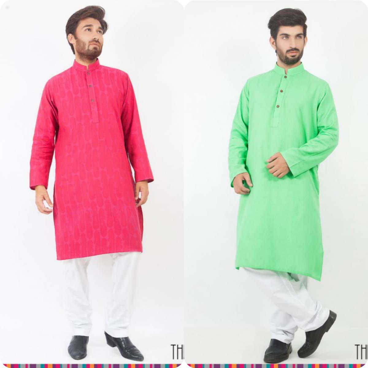 Thredz Menswear Summer Eid Kameez Shalwarkurta Designs Collection 2016-2107 (4)