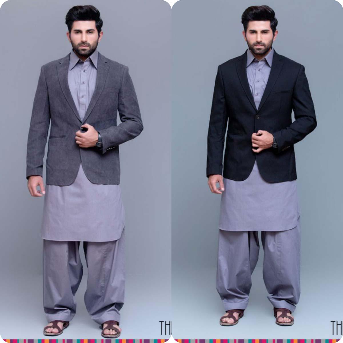 Thredz Menswear Summer Eid Kameez Shalwarkurta Designs Collection 2016-2107 (8)