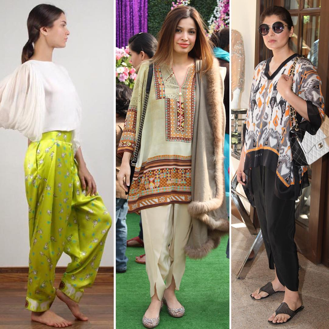 Top 8 Best Designers Tulip Shawar Designs For Girls 2016'17 (2)