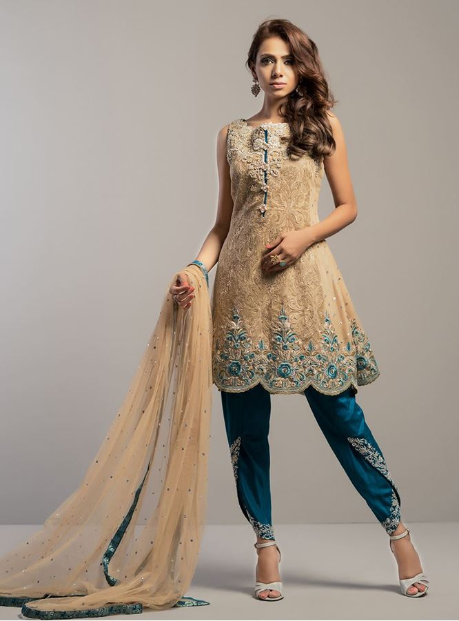 Top 8 Best Designers Tulip Shawar Designs For Girls 2016'17 (4)