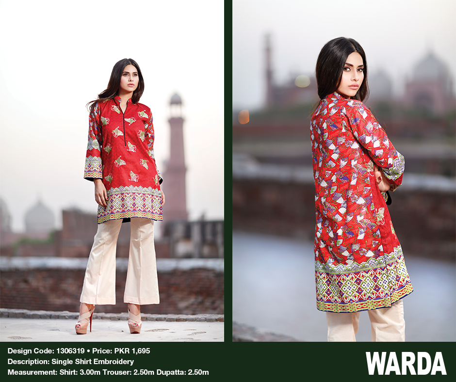 Warda Eid Dresses