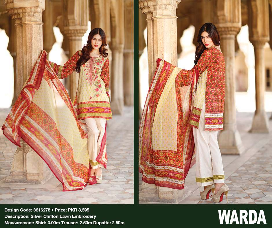 Warda Designers Festive Eid Collection 2016 With Prices- LookBook (2)