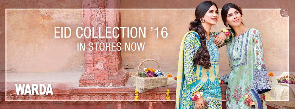 Warda Designers Festive Eid Collection 2016 With Prices- LookBook