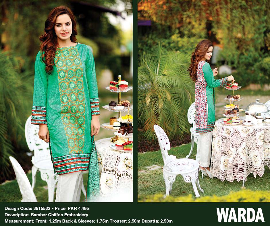Summer Lawn Dresses by Warda