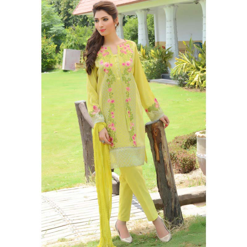 Zeniya embroidered Dresses for women 2016