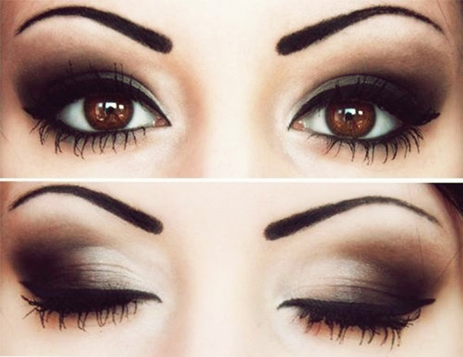 Smokey Eye Makeup Tutorial For Girls Step By Step