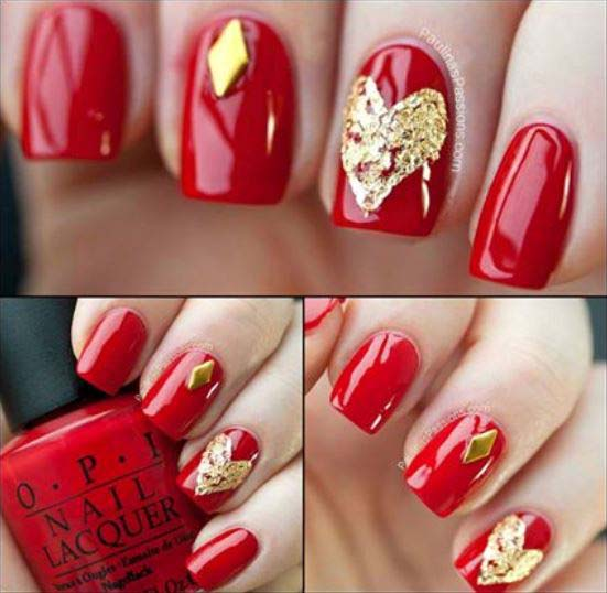 Best Bridal Nail Art Ideas For Wedding Brides 2016-2017 (11)