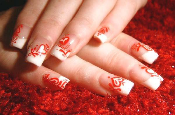 Best Bridal Nail Art Ideas For Wedding Brides 2016-2017 (12)