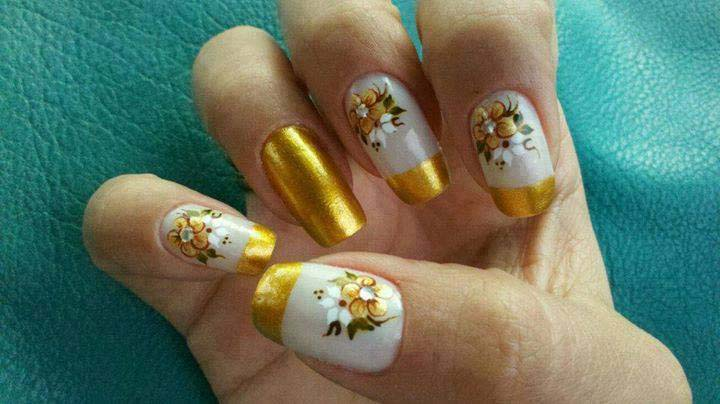 Best Bridal Nail Art Ideas For Wedding Brides 2016-2017 (16)