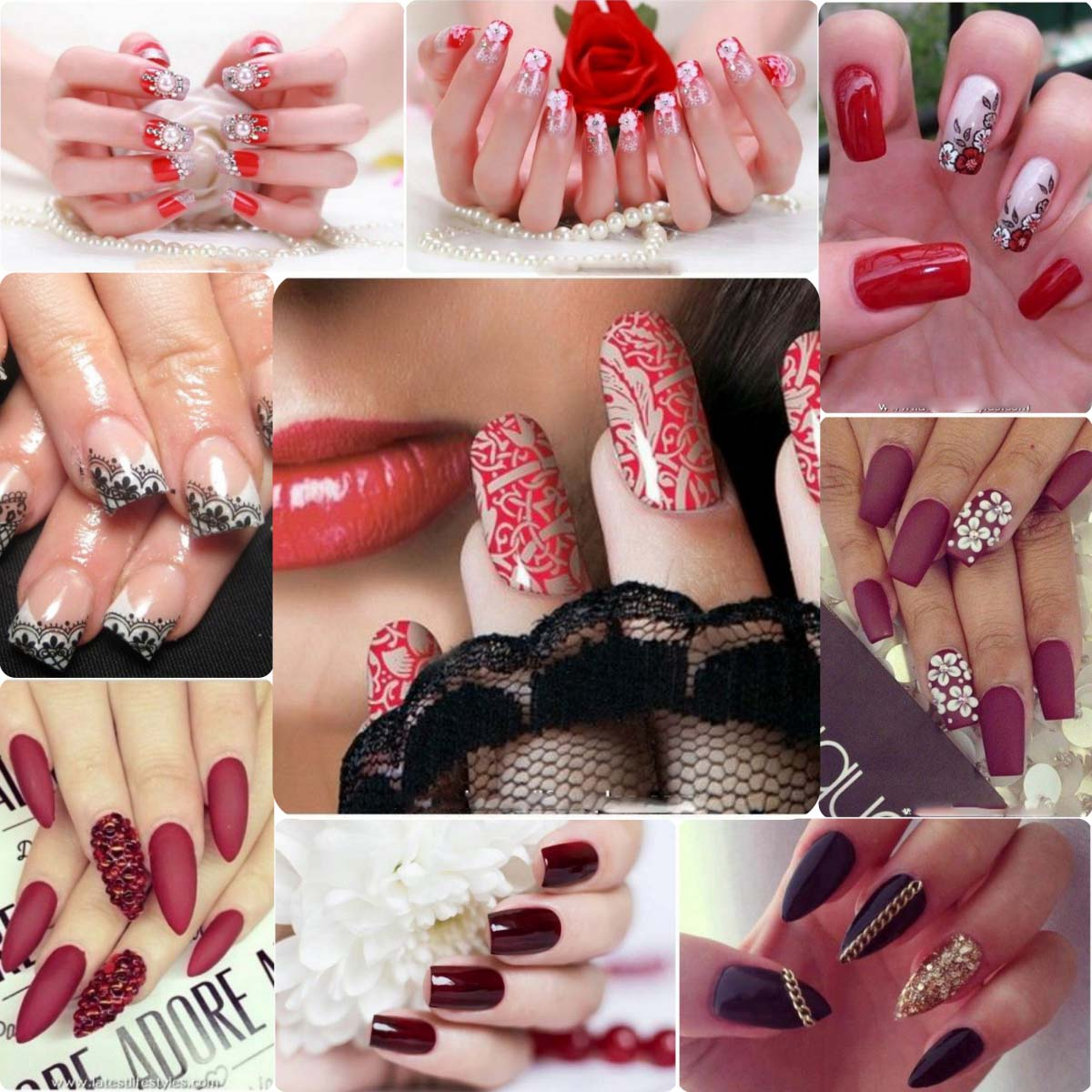 Beautiful Nail Art Designs for Bridals 2016\'17 | Stylo Planet