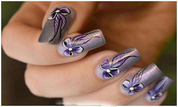 Best Bridal Nail Art Ideas For Wedding Brides 2016-2017 (2)