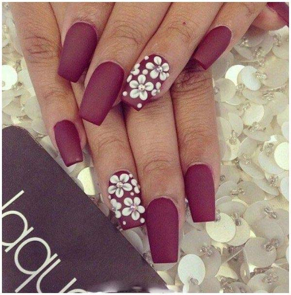 Best Bridal Nail Art Ideas For Wedding Brides 2016-2017 (22)