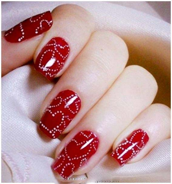 Best Nail Art for Wedding Brides