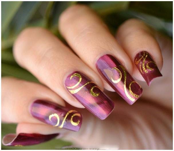 Best Bridal Nail Art Ideas For Wedding Brides 2016-2017 (25)