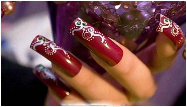 Best Bridal Nail Art Ideas For Wedding Brides 2016-2017 (26)