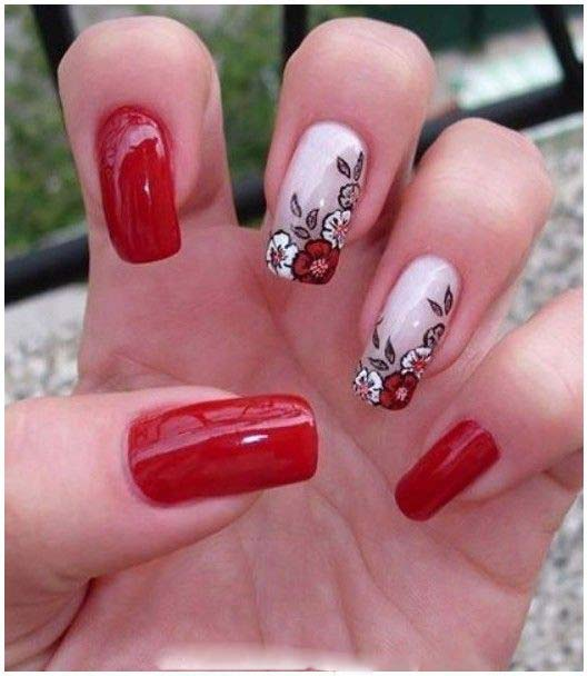 Best Bridal Nail Art Ideas For Wedding Brides 2016-2017 (28)
