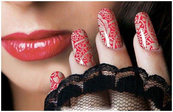 Best Bridal Nail Art Ideas For Wedding Brides 2016-2017 (6)