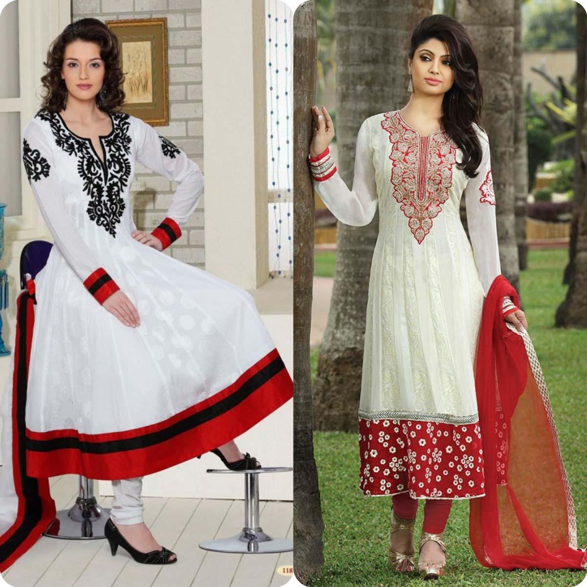 Churidar Neckline Designs for Women Dresses
