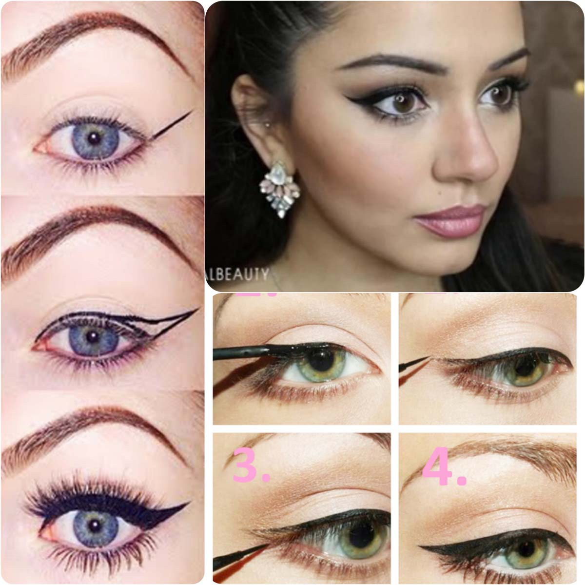 how to put on eyeliner for beginners