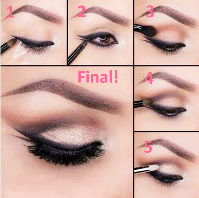 DIY 5 Different Eyeliner Styles For Beginners With Steps & Complete Tutorial (6)