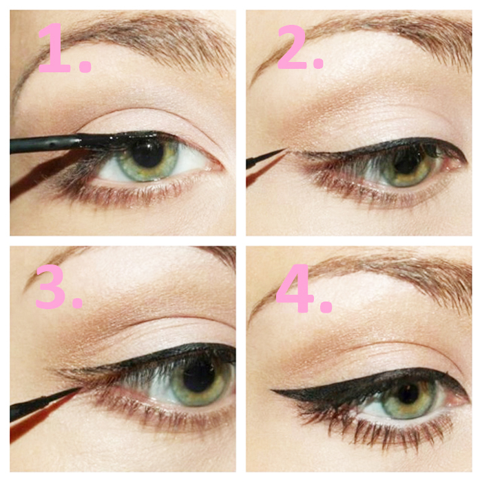 DIY 5 Different Eyeliner Styles For Beginners With Steps & Complete Tutorial (9)