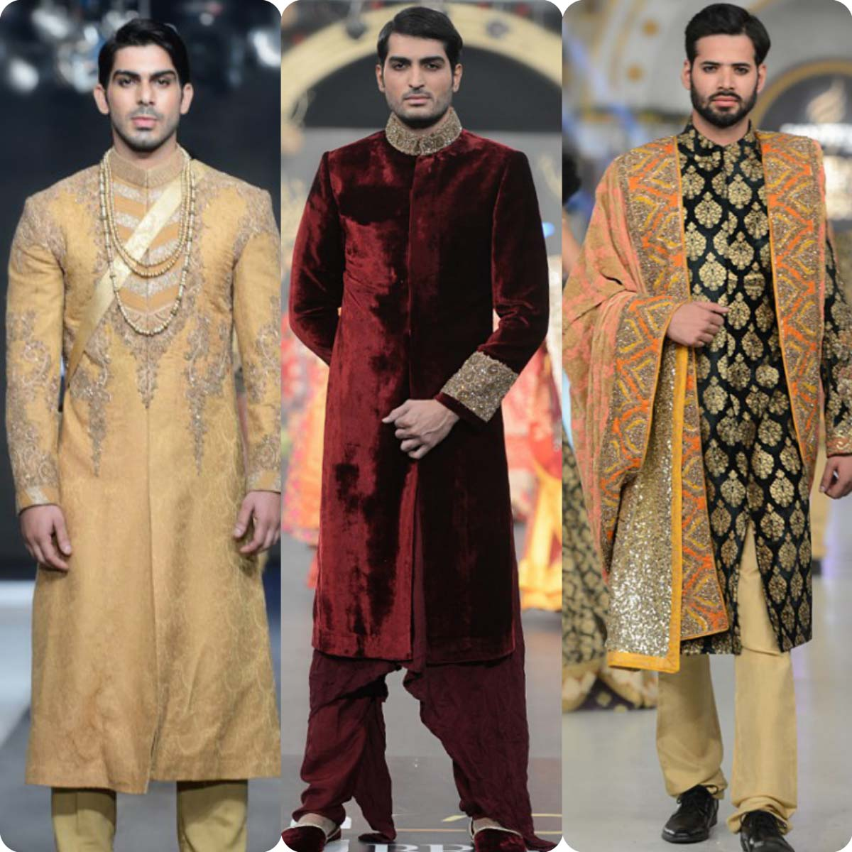 Latest HSY Sherwani Suits Design For Men 2016
