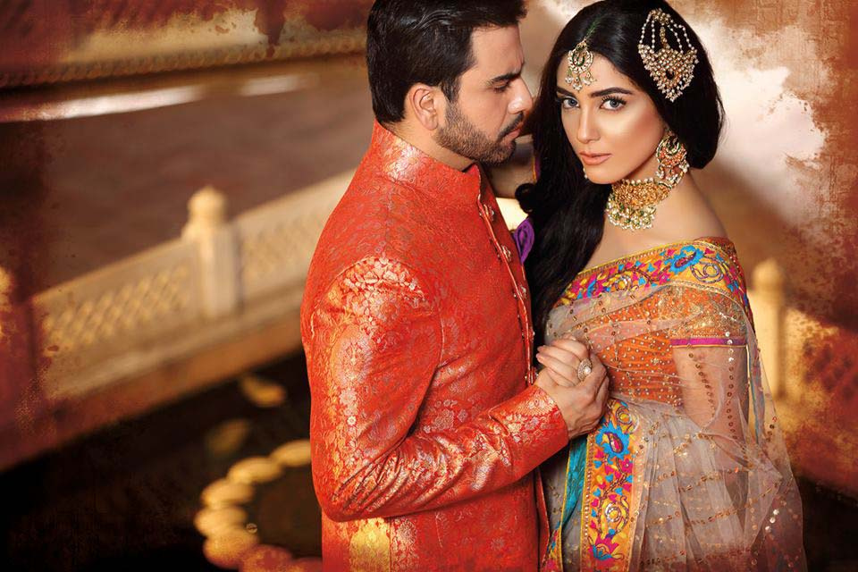 Nomi Ansari Bridal Wear Collection Ft-Junaid & Maya 2016-17