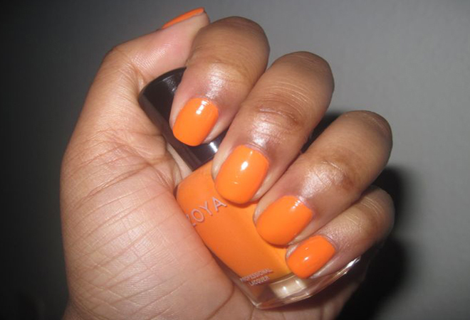 Tangerine Nail Polish for Women