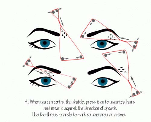 Tips to Shape Your Eyebrows With Thread In 5 Minutes Or Less (4)