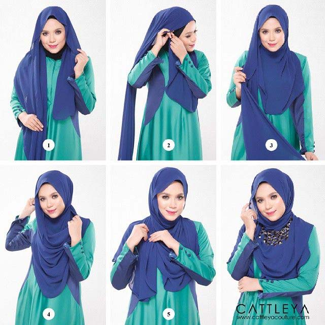 Top 20 latest And Stylish Hijab Tutorial For Girls 2016-2017