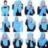 Top 20 latest And Stylish Hijab Tutorial For Girls 2016-2017 (5)