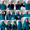 Top 20 latest And Stylish Hijab Tutorial For Girls 2016-2017 (6)