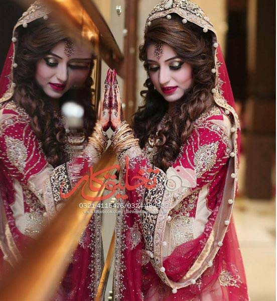 Beautiful Bridal Barat Dresses Designs Collection 2016-2017 for Wedding Brides (25)