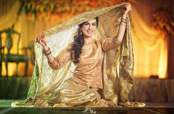Beautiful Bridal Barat Dresses Designs Collection 2016-2017 for Wedding Brides (4)