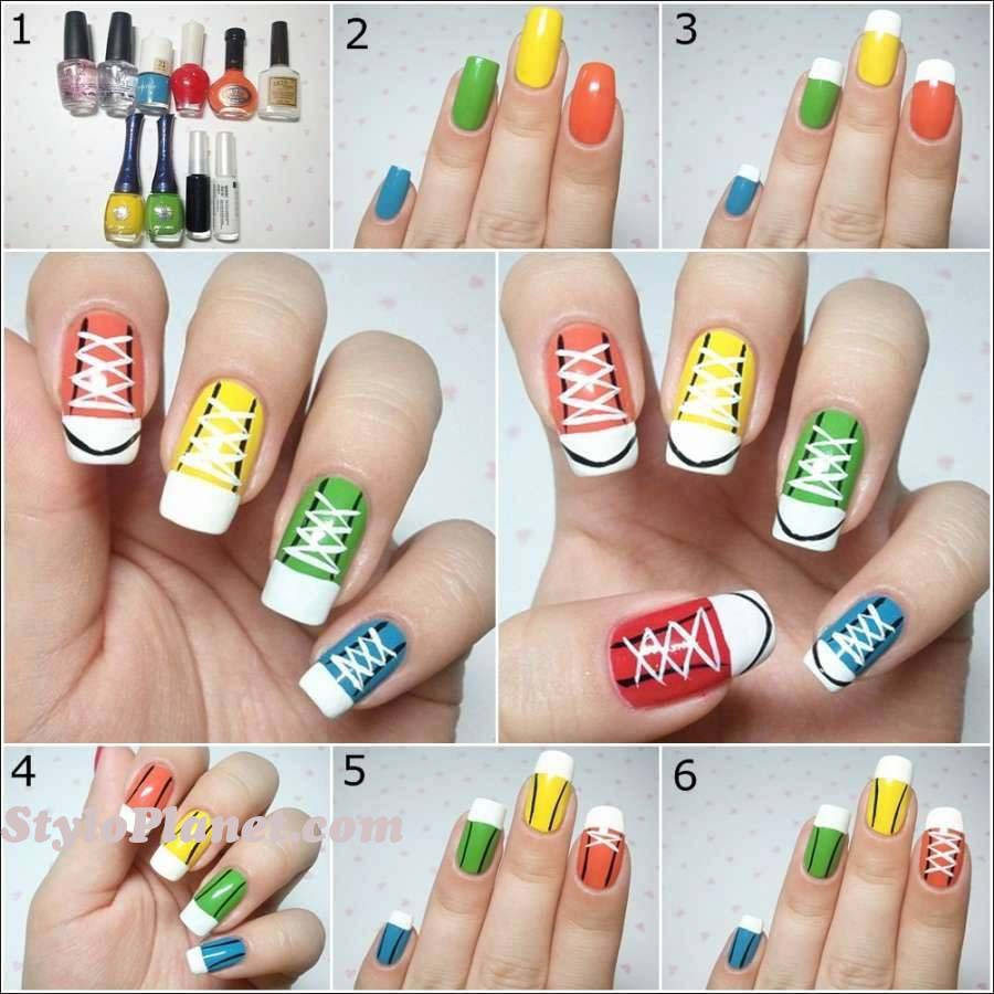 Nail Art Designs 2016 Step By