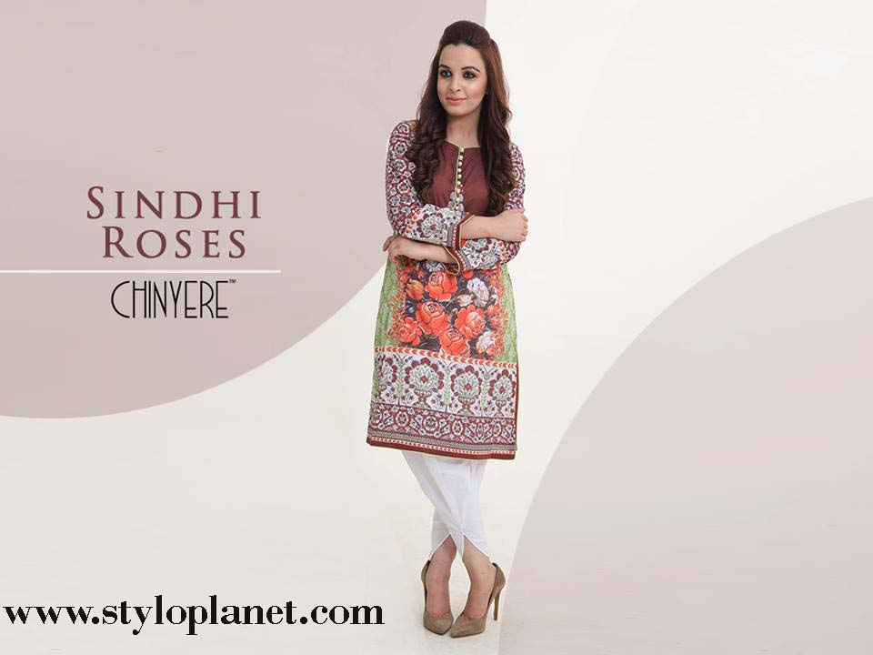 Chinyere Latest Eid Dresses Designs & Accessories Collection 2016-2017 (18)
