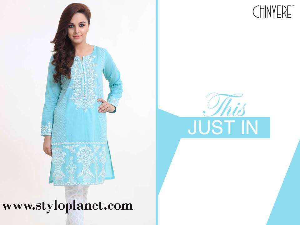 Chinyere Latest Eid Dresses Designs & Accessories Collection 2016-2017 (9)